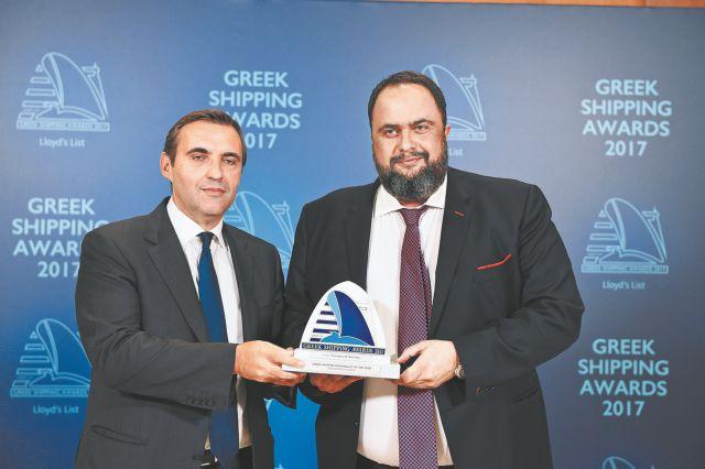 GREEK SHIPPING AWARDS 2017: Η ελίτ της ναυτιλίας βραβεύθηκε από τους Lloyd's | tovima.gr
