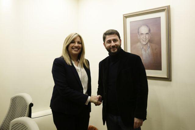 Σε πολύ καλό κλίμα η συνάντηση Γεννηματά – Ανδρουλάκη   tovima.gr