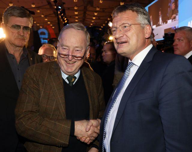 Γερμανία: Ο ευρωβουλευτής Γιεργκ Μόιτεν επανεξελέγη αρχηγός του AfD | tovima.gr