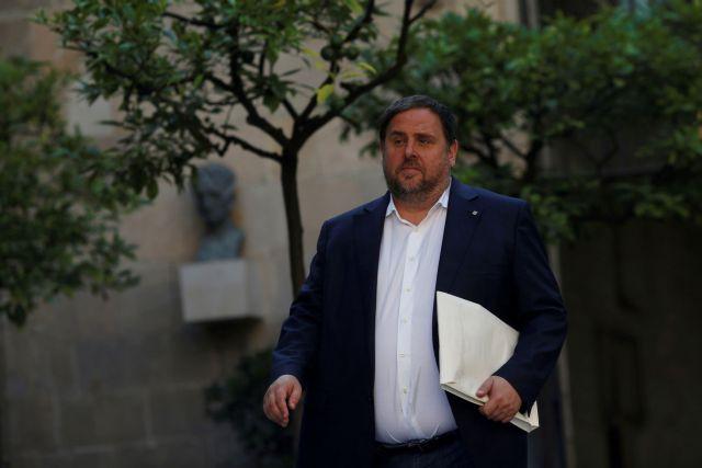 Προφυλακισμένοι παραμένουν τέσσερις ηγέτες της Καταλωνίας | tovima.gr
