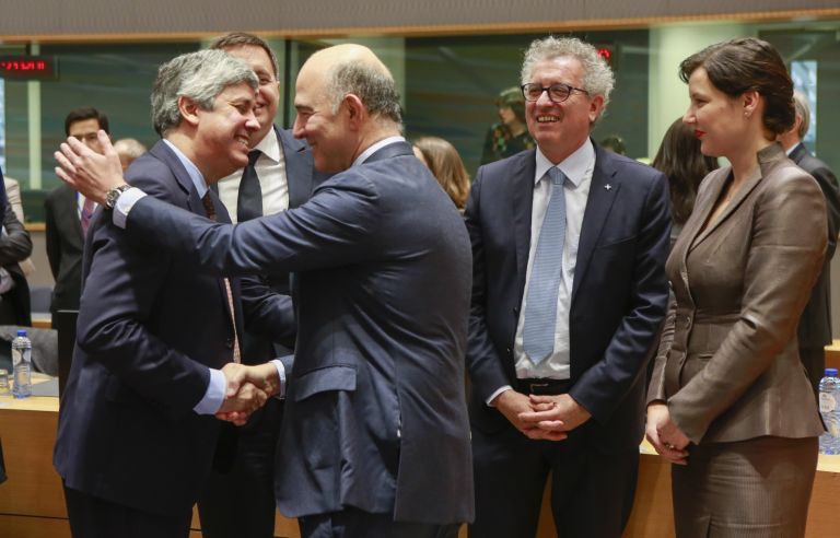 Eurogroup praises Greek deal with creditors, elects Centeno as president | tovima.gr