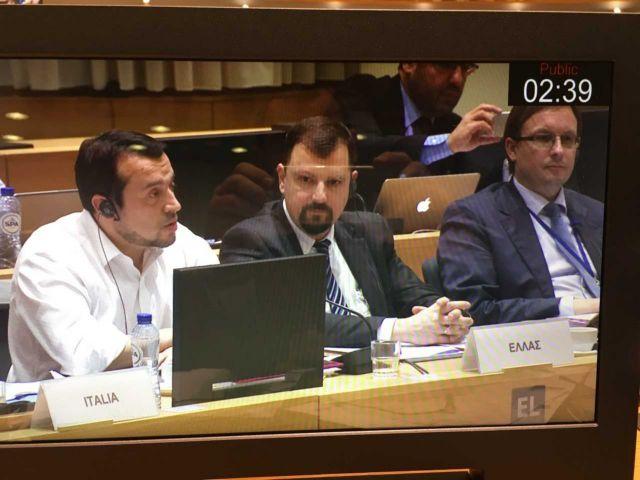 Ο Ν. Παππάς στη σύνοδο υπουργών τηλεπικοινωνιών της ΕΕ | tovima.gr