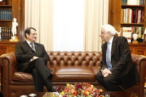 Επικοινωνία Παυλόπουλου – Αναστασιάδη ενόψει επίσκεψης Ερντογάν   tovima.gr