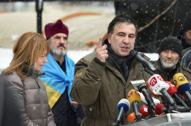 Ουκρανία: Η αστυνομία απέτυχε να συλλάβει τον Σαακασβίλι | tovima.gr