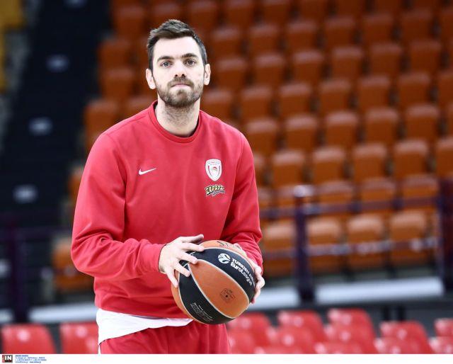 Μπάσκετ: Νέο πρόβλημα για τον Ολυμπιακό, διάστρεμμα ο Μάντζαρης | tovima.gr