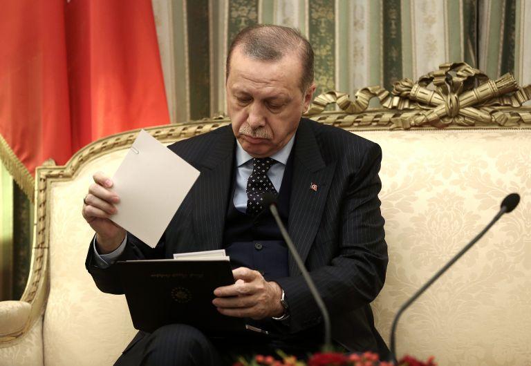 Erdogan uses trip to challenge Lausanne Treaty provisions on Thrace | tovima.gr