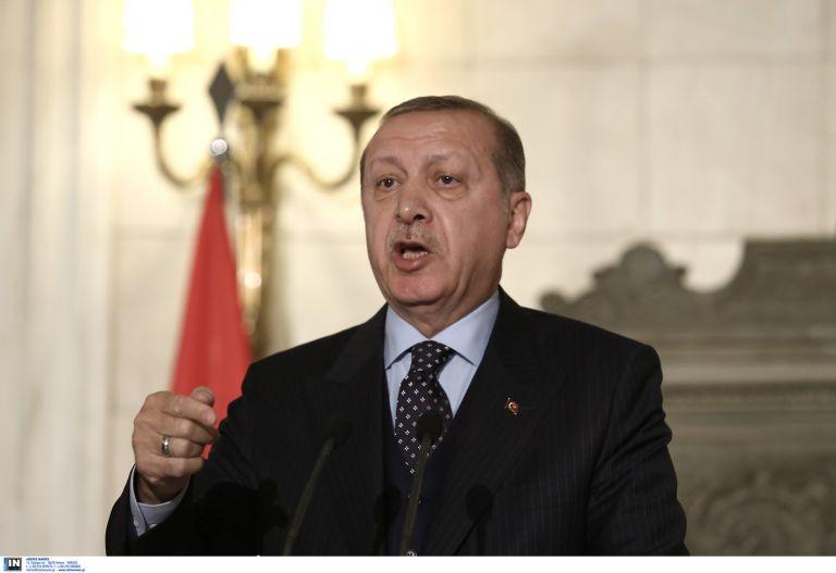 Νέες απειλές Ερντογάν: « Προειδοποιούμε όσους ξεπερνούν τα όριά τους στην Κύπρο και το Αιγαίο να μην κάνουν λάθος υπολογισμούς» | tovima.gr