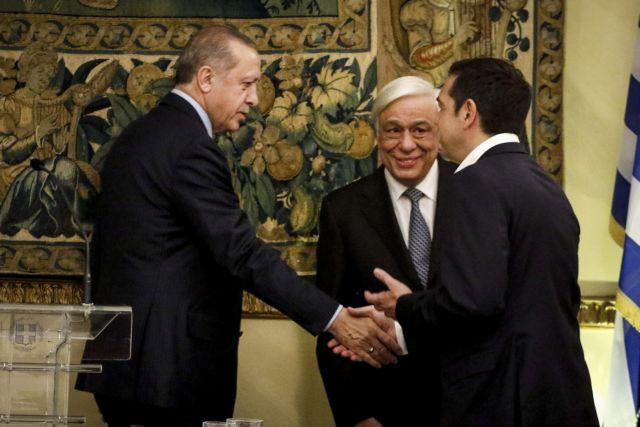 Ερντογάν: Eιρήνη με την Ελλάδα – Ανταλλαγή όμως των δύο ελλήνων στρατιωτικών με τους οκτώ τούρκους αξιωματικούς | tovima.gr