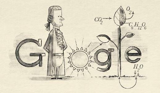 Στον Ολλανδό Jan Ingenhousz αφιερωμένο το Google doodle | tovima.gr