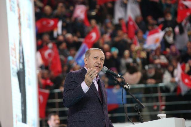 Ερντογάν: «Κράτος τρομοκράτης το Ισραήλ» | tovima.gr
