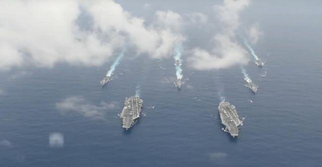 Κοινή ναυτική άσκηση Ν.Κορέας – ΗΠΑ -Ιαπωνίας   tovima.gr