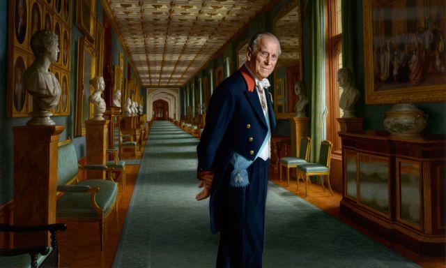 Το «αποχαιρετιστήριο» πορτρέτο του πρίγκιπα Φίλιππου | tovima.gr