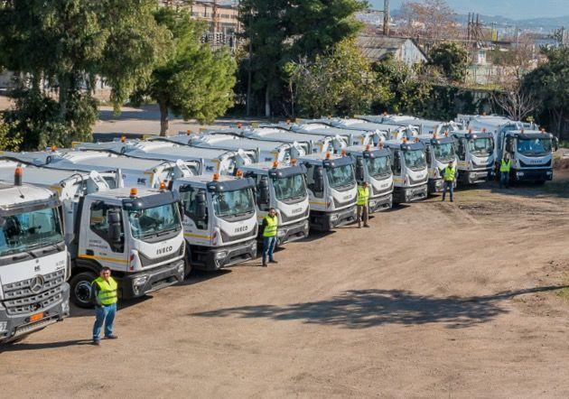Αθήνα: 25 νέα απορριμματοφόρα στη μάχη της καθαριότητας | tovima.gr