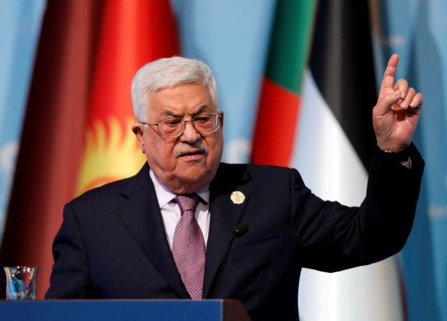 Αμπάς: Ισραήλ και ΗΠΑ δεν ενδιαφέρονται για μια δίκαιη λύση | tovima.gr