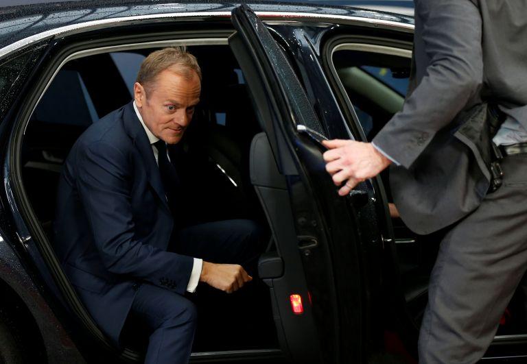 Tusk proposal to scrap refugee quotas divides EU summit | tovima.gr