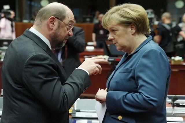 Υπέρ ενός μεγάλου συνασπισμού  το 61% των Γερμανών | tovima.gr