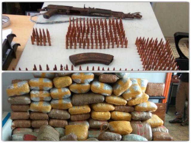 Βρέθηκαν όπλα και ναρκωτικά σε δασική περιοχή του Πωγωνίου | tovima.gr