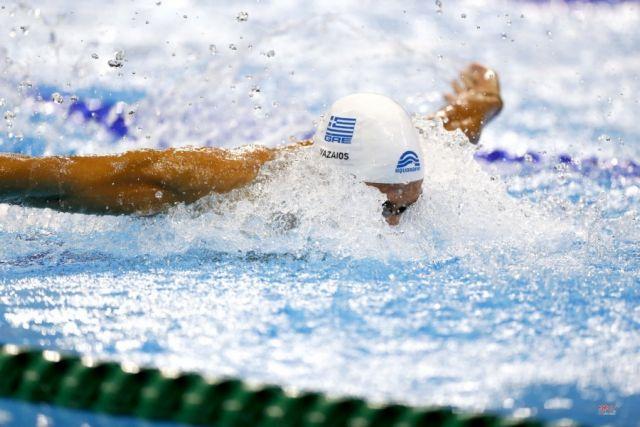 Ευρωπαϊκό 25άρας πισίνας: Στον τελικό των 200μ. πεταλούδα με  ρεκόρ ο Βαζαίος   tovima.gr