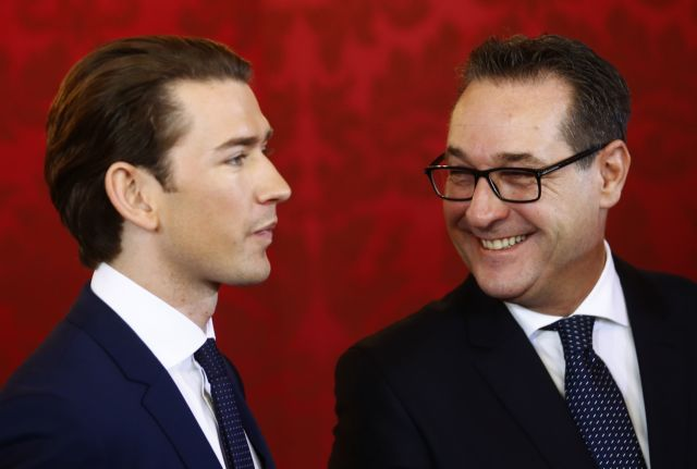 Προβληματισμός στην ΕΕ για την κυβέρνηση της Αυστρίας   tovima.gr
