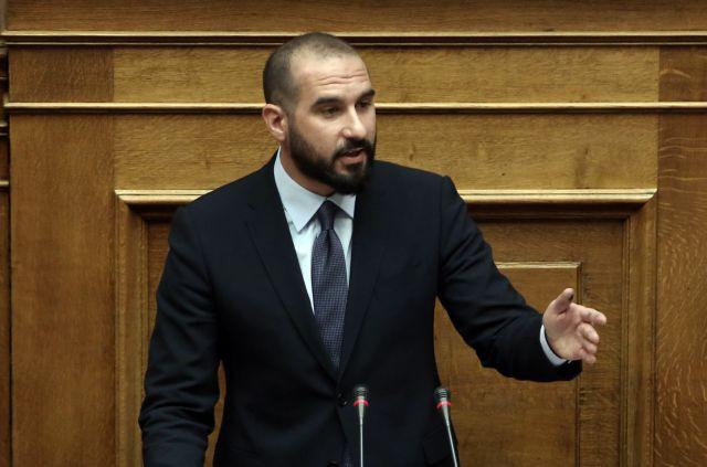 Τζανακόπουλος: Πρωτοβουλίες ευρείας συναίνεσης στο θέμα της ΠΓΔΜ | tovima.gr