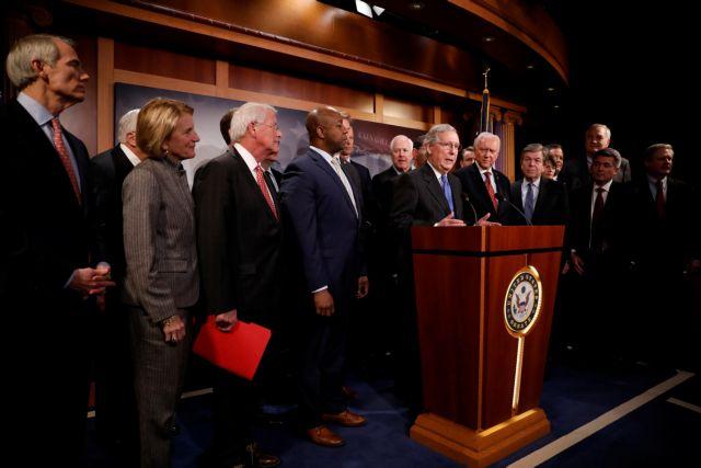 ΗΠΑ: Εγκρίθηκε το νομοσχέδιο για το νέο φορολογικό κώδικα | tovima.gr