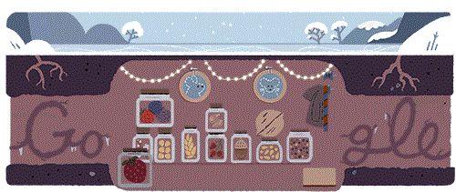 Στο χειμερινό ηλιοστάσιο αφιερωμένο το Google doodle | tovima.gr