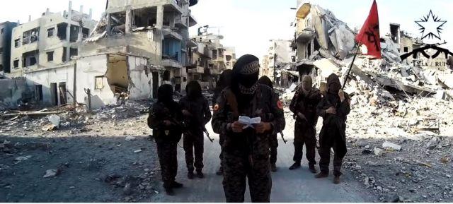 Συρία: Μήνυμα στα ελληνικά από μαχητές κατά των τζιχαντιστών [Βίντεο]   tovima.gr