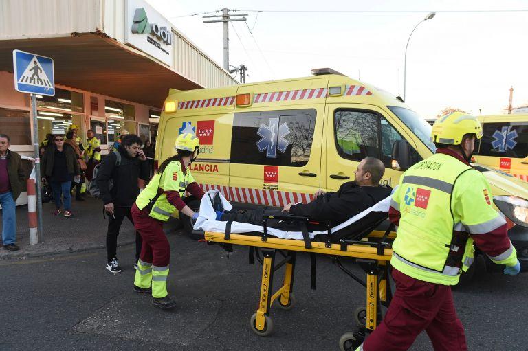 Σύγκρουση τρένου στη Μαδρίτη – Πάνω από 40 τραυματίες | tovima.gr