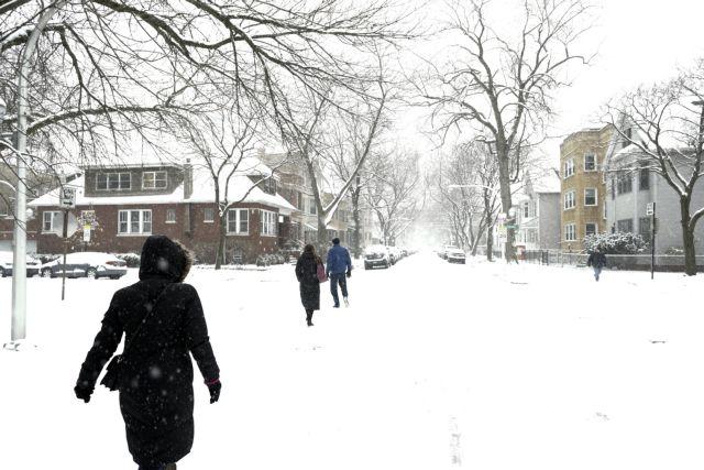 Πολικές θερμοκρασίες σε ΗΠΑ και Καναδά | tovima.gr