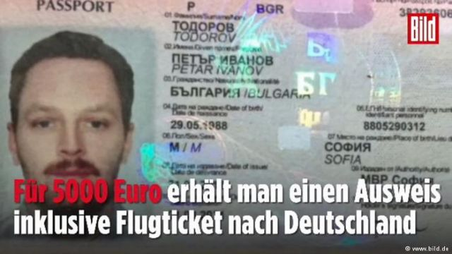 Bild: Σούπερ μάρκετ διαβατηρίων η Αθήνα   tovima.gr