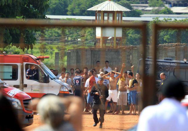 Βραζιλία: Αγνοούνται 99 δραπέτες μετά από εξέγερση σε φυλακές | tovima.gr