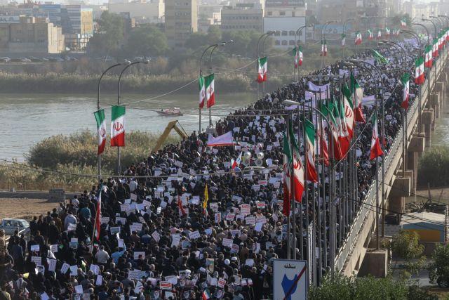 Ιράν: Χιλιάδες διαδηλωτές καταδίκασαν «τις ταραχές» | tovima.gr