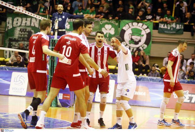 Ο Ολυμπιακός ισοπέδωσε τον Παναθηναϊκό με 3-0 σετ | tovima.gr