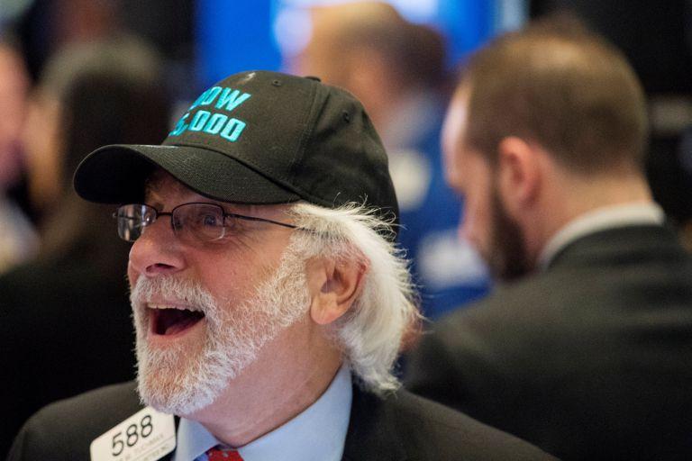 ΗΠΑ: Ο Dow Jones ξεπέρασε για πρώτη φορά τις 25.000 μονάδες | tovima.gr
