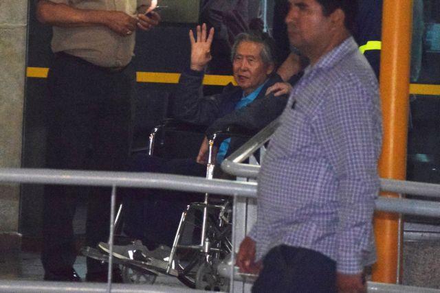 Περού: Ελεύθερος ο Φουτζιμόρι μετά το εξιτήριο από κλινική | tovima.gr