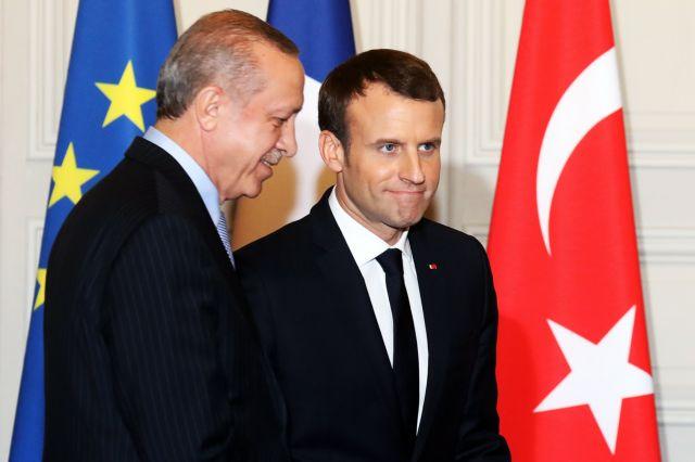 Οι διαφωνίες κι όσα συζήτησαν Ερντογάν-Μακρόν στο Παρίσι   tovima.gr