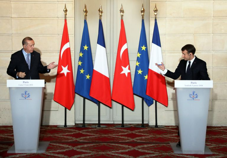 Μακρόν: Οι εξελίξεις δεν επιτρέπουν πρόοδο σχετικά με ένταξη Τουρκίας σε ΕΕ | tovima.gr