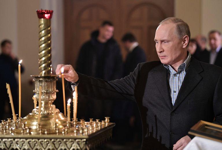 Πούτιν: Η κομμουνιστική ιδεολογία έχει πολλές ομοιότητες με τον χριστιανισμό | tovima.gr