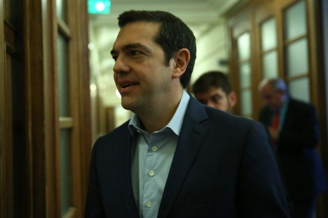 Tsipras rallies troops after plunge in polls | tovima.gr
