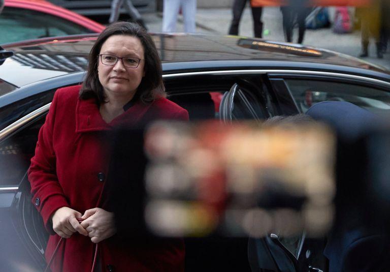 Προειδοποίηση SPD προς κόμμα Μέρκελ μετά τη διαρροή εγγράφου | tovima.gr