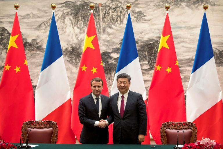 Πρόταση Μακρόν για άνοιγμα Γαλλίας στις κινεζικές επενδύσεις | tovima.gr