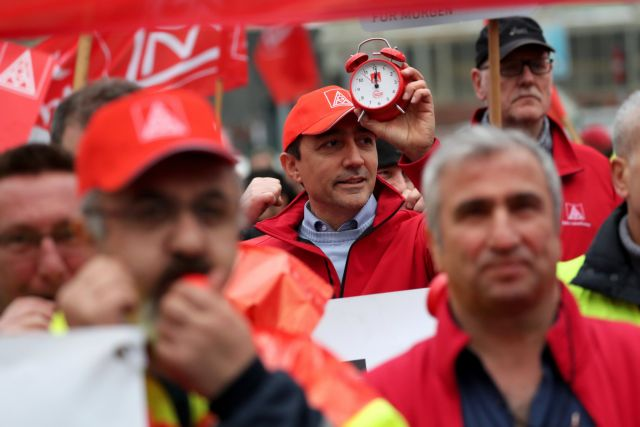 Τα συνδικάτα απειλούν το νέο γερμανικό οικονομικό θαύμα | tovima.gr