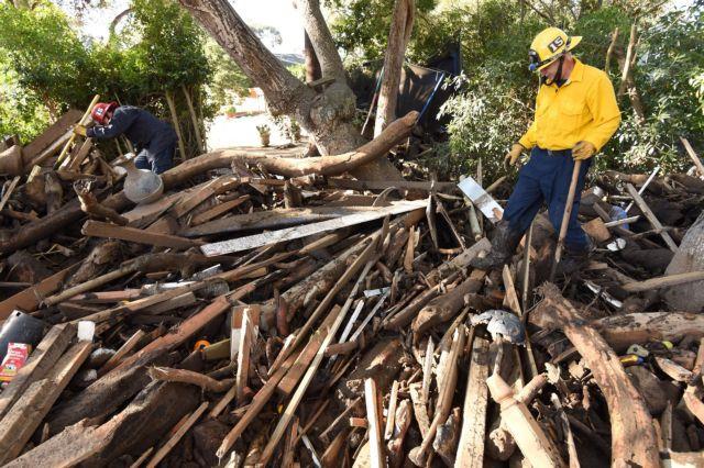 ΗΠΑ: 19 οι νεκροί από τη λάσπη στην Καλιφόρνια   tovima.gr