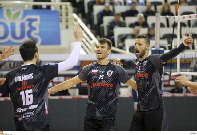 Α1 βόλεϊ: Ο ΠΑΟΚ πέρασε από το Βραχάτι, 3-0 τον Παμβοχαϊκό | tovima.gr