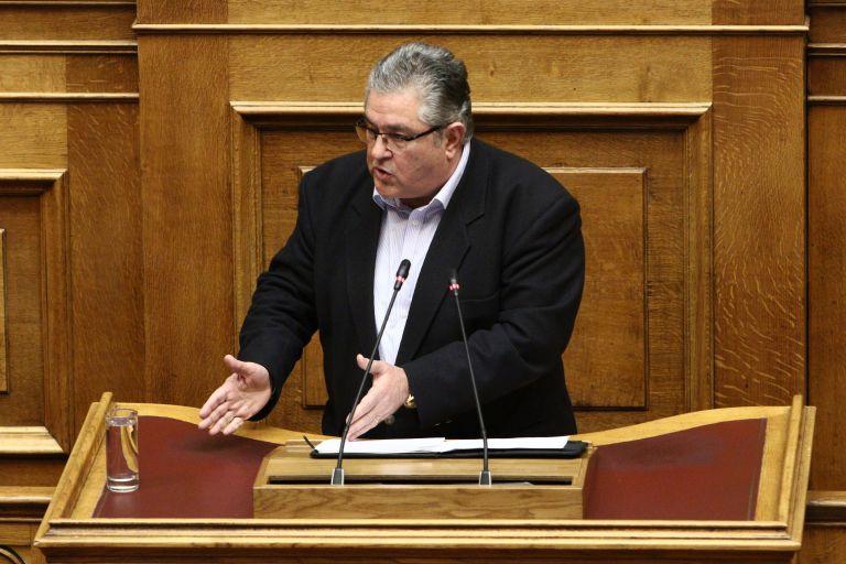 Κουτσούμπας: Λερώνετε τα χέρια σας για να μείνετε στην καρέκλα   tovima.gr