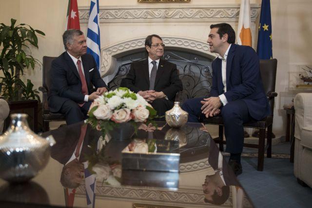 Ελλάδα-Κύπρος-Ιορδανία: Πυλώνες σταθερότητας και ασφάλειας   tovima.gr