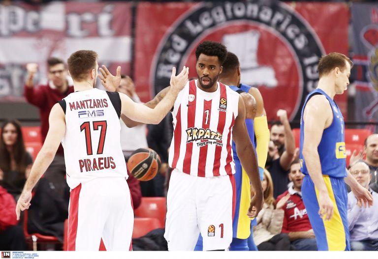 Euroleague: Ολυμπιακός – Μακάμπι 94 – 64, 40΄ | tovima.gr