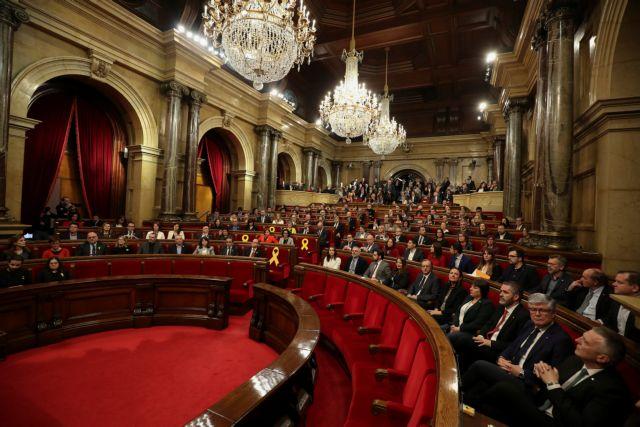Ισπανία: Η πρώτη συνεδρίαση του καταλανικού κοινοβουλίου   tovima.gr