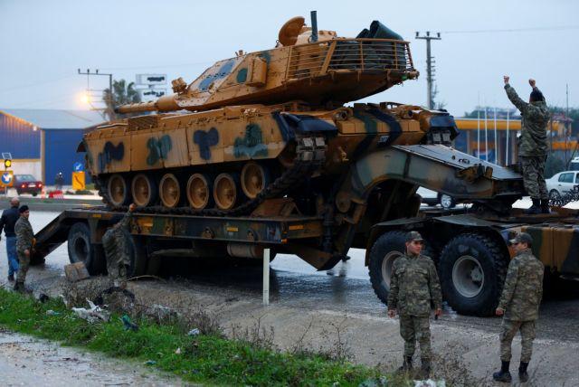 Συρία: Ξεκίνησε de facto η τουρκική επιχείρηση στην Αφρίν | tovima.gr