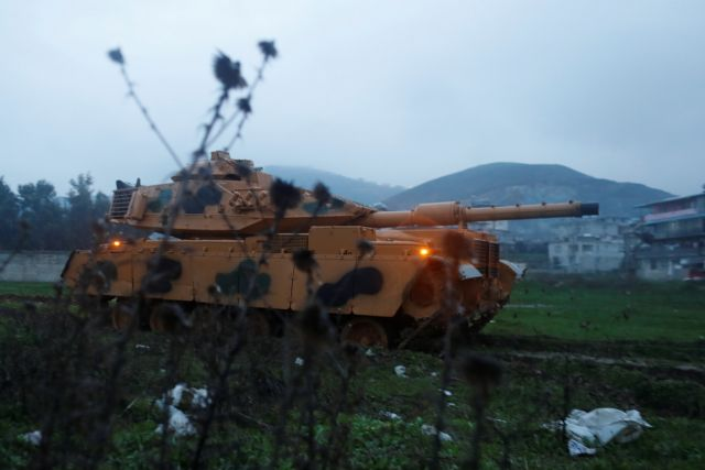 Τουρκία: Επέμβαση κατά της κουρδικής πολιτοφυλακής στη Συρία | tovima.gr